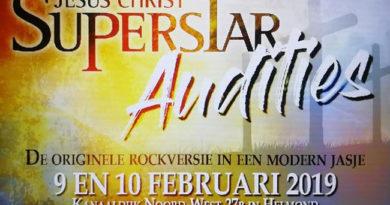 Stichting Musicals in Helmond houdt audities voor Jesus Christ Superstar