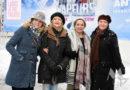 Vapeurs acteurs verwelkomen eerste sneeuw