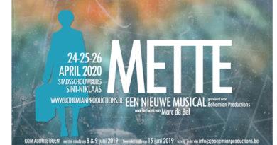 Bohemian Productions zoekt grote cast voor nieuwe musicalcreatie METTE