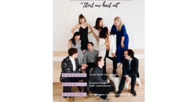 Studenten Musicalafdeling Koninklijk Conservatorium Brussel organiseren benefietconcert