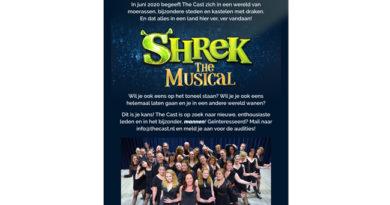 Musicalgroep The Cast zoekt nieuwe talenten voor Shrek the Musical